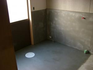 コンクリも壁もきれいになった