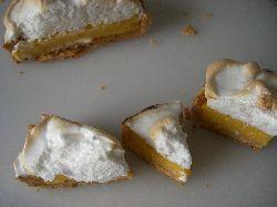 レモンメレンゲパイ試食