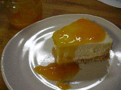 みかんチーズケーキ