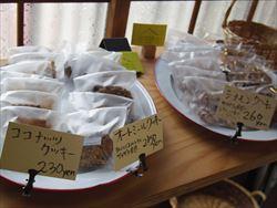 焼き菓子売り場