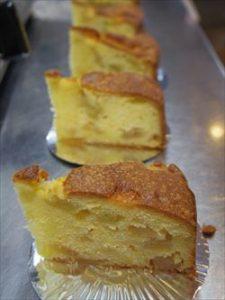 林檎とお芋のケーキ