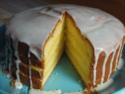 レモンレイヤーケーキ
