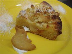 1月3日(日)のメニュー(キャロットケーキあります)。