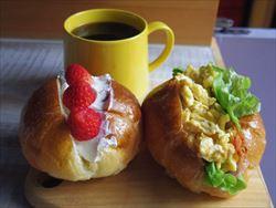 朝ごはん色々。