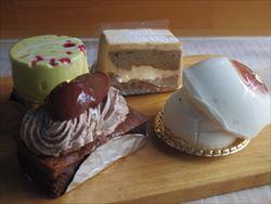 あしべのケーキたち。